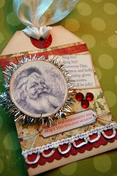 Scrapbook Christmas Gift Tags | Paradise Scrapbook Boutique is having their Annual Gift Workshop this ...