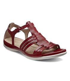 ECCO Flash Huarache Sandal leather brick sz38 89.99