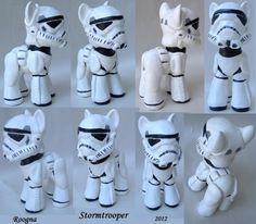 My Little Storm Trooper Ponies