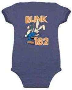 Blink-182 Baby Onesie Classic Bunny