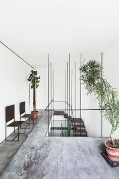 5 Lucky Clever Tips: Industrial Sofa Living Spaces industrial modern white.Industrial Home Loft industrial cafe concept. Modern Interior, Interior And Exterior, Interior Design, Interior Plants, Simple Interior, Modern Decor, Industrial Interiors, Industrial Chic, Industrial Restaurant