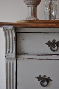 Fab Rehab Creations: Just Add Legs: Empire Style Buffet Empire Furniture, Gray Furniture, Refinished Furniture, Chalk Paint Furniture, Repurposed Furniture, Home Decor Furniture, Furniture Projects, Furniture Makeover, Vintage Furniture