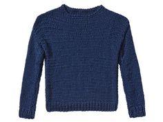 Strickmuster: Marine-Pullover stricken - eine Anleitung - BRIGITTE