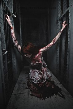The Murder in Question - Horror Photography by Morgan MacDonald