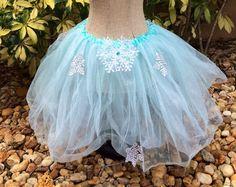 Elsa Tutu Elsa Costume Frozen Costume Frozen Tutu by partiesandfun