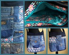 Jeans-Upcycling Tasche