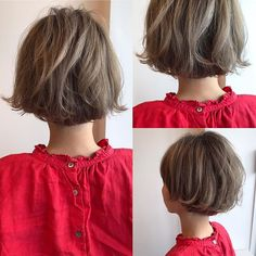 Japanese hairstyle design has always had its characteristics. So today we have collected 65 kinds of Japanese Messy short hairstyles idea. Let's look for amazing hair inspiration. Messy Short Hair, Medium Short Hair, Medium Hair Cuts, Cool Short Hairstyles, Short Hair Styles, Bob Haircut Medium Length, Balayage Brunette To Blonde, V Hair, Hair Arrange