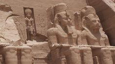 Ramses built the Temple at Abu Simbel in Egypt to intimidate his enemies and seat himself amongst the gods.