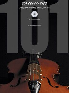 """101 Cello Tips - Stuff All the Pros Know and Use"" by Angela Schmidt. Ready to take your cello playing to the next level? This book presents valuable how-to insight that cellists of all levels can benefit from, spanning classical to rock music, and everything in between. Cello Music, Music Ed, Music Stuff, Music Bands, Rock Music, Violin, Sheet Music, Music Theory, Teaching Music"