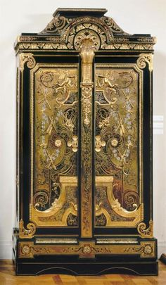 Andre-Charles Boulle armoire - 1710