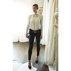 New year vibes ✨ #ootd  Yves Saint Laurent Belt Frame Denim Jeans BCBG Shoes Chloe Purse