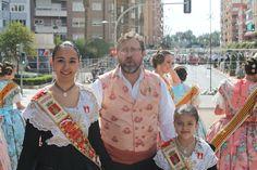 Reinas, Damas y Corte de Honor de Segorbe participan en las Ofrendas de Valencia y Torrente