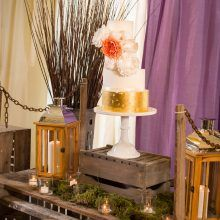 Suzanne Esper Cake Get Knotted Table Carfraemill Marquee Wedding Venue