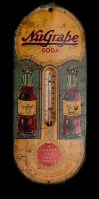 MyGrape soda thermometer