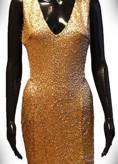 Kup mój przedmiot na #vintedpl http://www.vinted.pl/damska-odziez/krotkie-sukienki/13134196-zlota-sukienka-tfnc