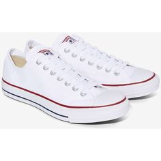 Converse Chuck Taylor All Star Classic Sneaker (73 CAD) ❤ liked on Polyvore featuring shoes, sneakers, short heel shoes, striped sneakers, laced shoes, converse sneakers and canvas lace up shoes
