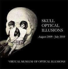 ¡Algunas ilusiones opticas de calaveras!