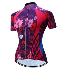 Shenshan Women s Sports Clothing Short Sleeve Cycling Jersey Shirts Size  XL. SIZE TIPS  Asian size may be 1-2 size smaller than US or EU  Usually  buying one ... 9b4761d63