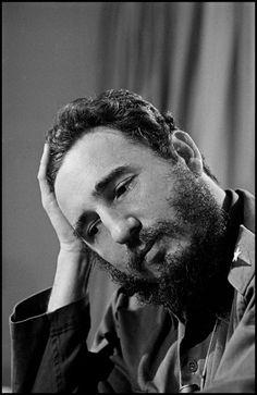 Elliott Erwitt. CUBA. Fidel CASTRO. 1964
