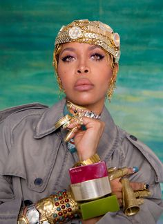 """I'm My Own Audience"": Erykah Badu on the Joy in Dressing for Yourself Afro Punk, Elle Fanning, Beautiful Black Women, Black Women Beauty, Dress For You, Style Icons, Style Inspiration, Celebrities, Swag Fashion"