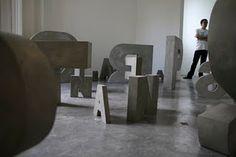 Marina Dardot - Concrete Letters