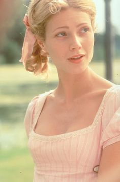 """Gwyneth Paltrow will always be """"my"""" Emma. She looks and acts exactly the way I pictured Emma while reading the book. Emma Woodhouse, Emma Gwyneth Paltrow, Emma 1996, North And South, Jane Austen Movies, Little Dorrit, Period Movies, Period Dramas, Image Film"""