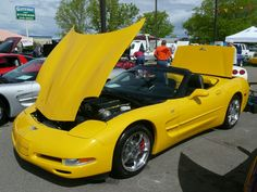 2003 Corvette convertible. Corvette's 50th Anniversary. An awesome, AWESOME car!!!
