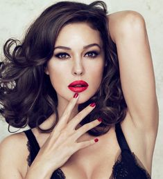Monica Bellucci is the new face of a Dolce & Gabbana lipstick collection - hellomagazine.com
