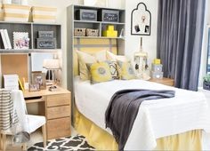 Dorm decorating has never been so easy! With Dorm Decor, functionality and style go hand in hand.