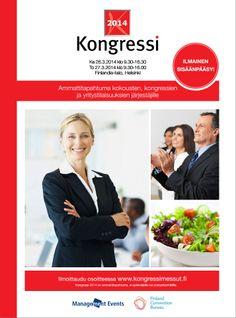 Kongressi 2014 | 26.-27.3.2014 Finlandia-talo  | Management Events