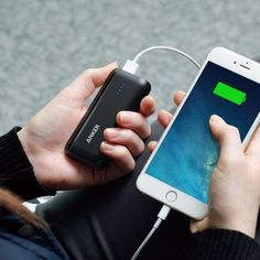 And keep a portable charger with you so that your devices stay charged and usable. | 24 Ways To Make Traveling Less Stressful