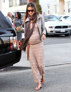 Project Nursery - Pregnant Alessandra Ambrosio's Maternity Style