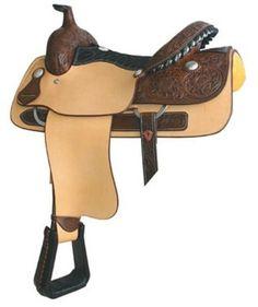 "Billy Cook Justin Roping Roper Saddle 16"""