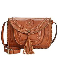 b1a6956db6f Patricia Nash Beaumont Flap Shoulder Bag & Reviews - Handbags & Accessories  - Macy's