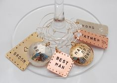 Drink Charms by FancyGirlDesigns on Etsy, $18.00