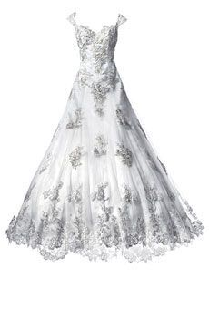 Perfect wedding dresses for plus size body type: Justin Alexander