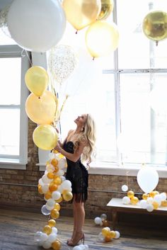 NYE Dresses with Alyce Paris - Welcome to Olivia Rink Big Balloons, Latex Balloons, Olivia Rink, Photoshoot Inspiration, Photoshoot Ideas, Floor Length Gown, Amazing Weddings, Birthday Dinners, Perfect Party