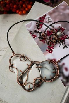 Statement necklace Christmas gift for her Bridesmaid gift for