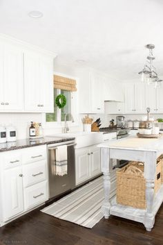 10 Ways to Add Character to a White Kitchen   Over the past three years, we've been slowly and surely finding ways to add character to our blank-slate white painted kitchen. Read on to see my tips and tricks for warming up this space!
