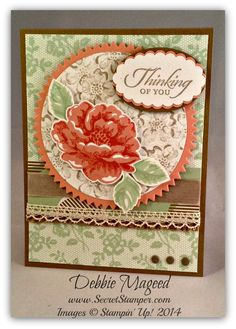 Stippled Blossoms, Wetlands, I Love Lace, Gold Soiree, Stampin' Up!