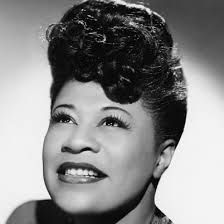 "Ella Fitzgerald- Dubbed ""The First Lady of Song,"" Ella Fitzgerald was the most popular female jazz singer in the United States for more than half a century. In her lifetime, she won 13 Grammy awards and sold over 40 million albums. Jazz Artists, Jazz Musicians, Music Artists, Louis Armstrong, Ella Fitzgerald Biography, Hollywood, Buddy Guy, Carole King, Carlos Santana"