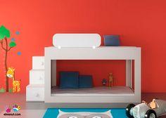 Dormitorio Infantil con Litera Baja - 074-006