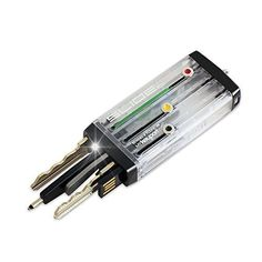 Keyport Slide Pro 8+ Bundle (Ice) - Everyday Multi-Tool (8GB USB + LED + Pen + Bottle Opener) + Keys for the Modern Lifestyle - Compact Key Holder - Pocket Key Organizer - Keychain Alternative by Keyport