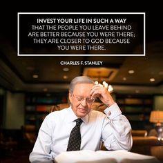 - Charles F. Stanley
