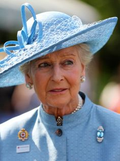 Princess Alexandra, June 12, 2014 in Rachel Trevor Morgan | Royal Hats