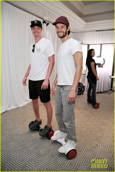 Ben Barnes & Gina Rodriguez Pick Up Swag at Emmys Weekend Gifting Suite!: Photo Ben Barnes looks like he's having a blast while riding a Hovertrax by Inventist at the Extra + Productions Weekend of Lounge gifting suite held during Emmys… Ben Barnes, The Darkling, Gina Rodriguez, Dan Stevens, Mr Perfect, Charming Man, Sirius Black, Thomas Brodie Sangster, Boy Photos