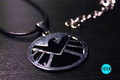 Marvel Agents of S.H.I.E.L.D. Necklace Avengers by fotem on Etsy
