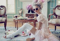 """Wildfox """"Let me eat cake"""" sunglasses fit for a Queen"""
