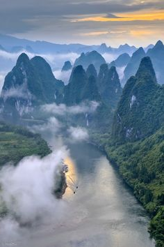 Yangshuo, China. Exactly like the classical chinese paintings!