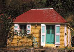 Maison creole, architecture antillaise - Guadeloupe